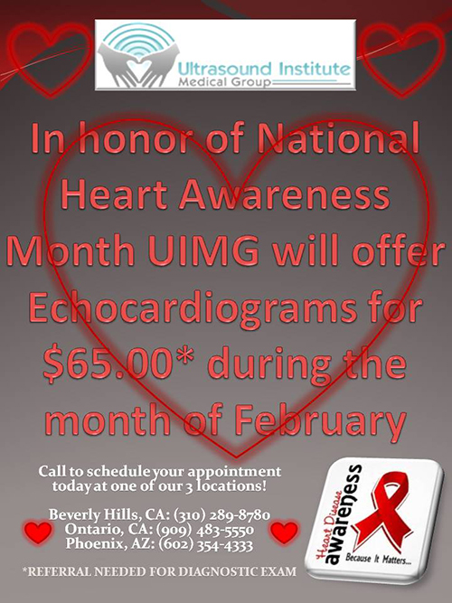 February is National Heart Awareness Month